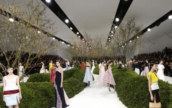 Spring in the air during Paris Couture week