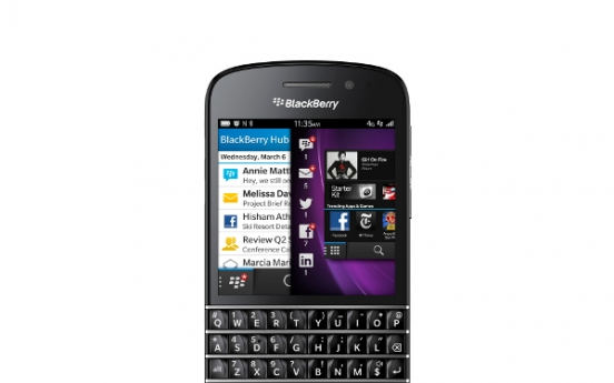 RIM launches new name and BlackBerry 10