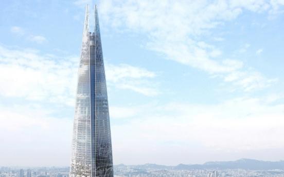 [Newsmaker] Cracks found in Lotte's 123-story building
