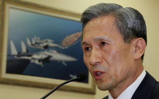 Defense chief takes flak for leaving Seoul amid N.K. threat