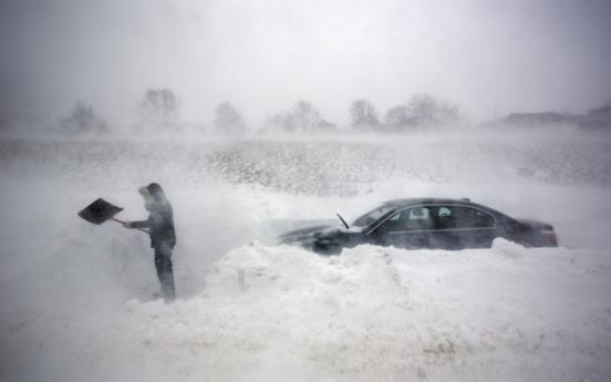 美 최악의 눈폭풍... 최소 6명 사망