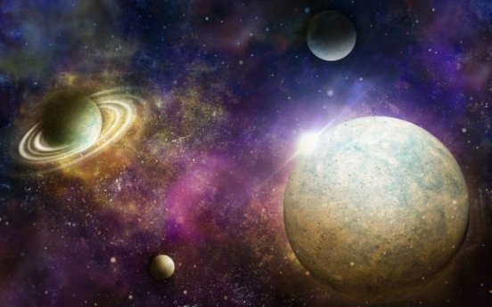 Comet dust seeding life to Jupiter moons?