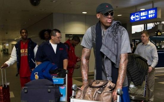 NBA의 악동 로드맨, 북한엔 무슨 일로?