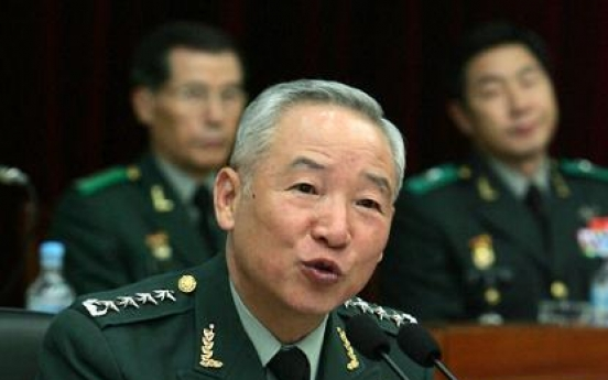 [Newsmaker] Ex-army chief to head intelligence service