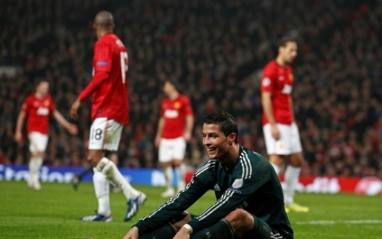 Real Madrid eliminates United in Champions League
