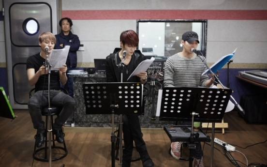 [Photo News] JYJ practice session for upcoming concert