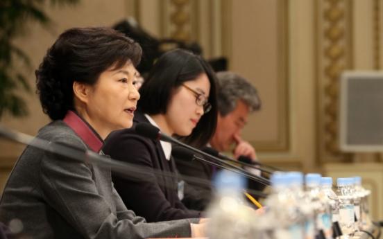 Park urges chaebol-SME coprosperity