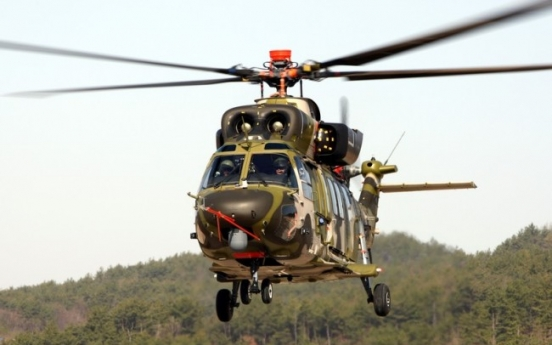 S. Korea completes development of indigenous utility helicopter