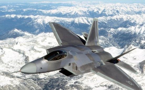 F-22 Raptors join U.S. might in Korea