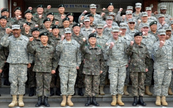 Allied cohesion at core of N.K. deterrence