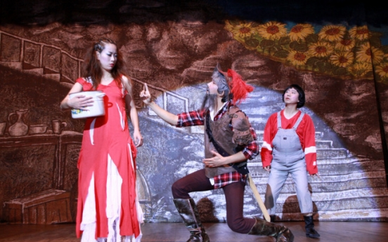 Musical troupe overcomes disability with sign language, facial expression