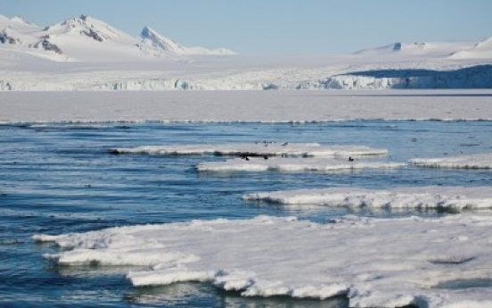 Climate change increases ice around Antarctica: study