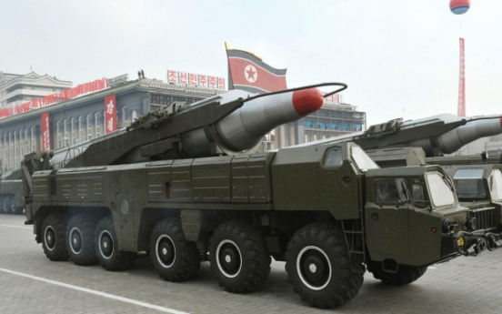 N. Korea loads two medium-range missiles on mobile launchers