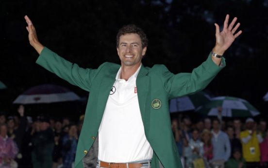 [Newsmaker] Scott first  Aussie to win the Masters