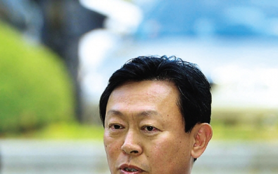[Photo News] Lotte chief on trial
