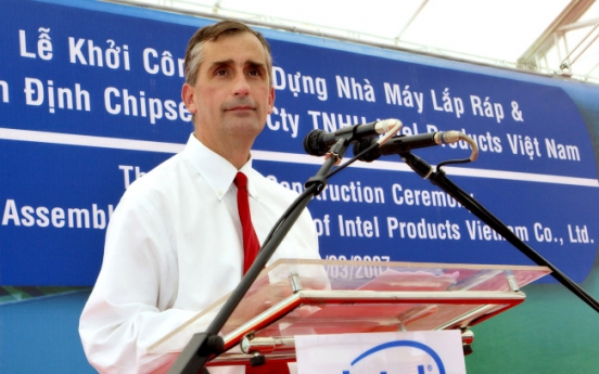 Intel names Krzanich as chipmaker's next CEO