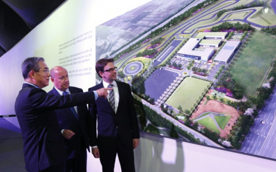 BMW Korea driving center breaks ground in Incheon