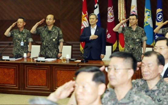Military leaders vow firm deterrence against N. Korea