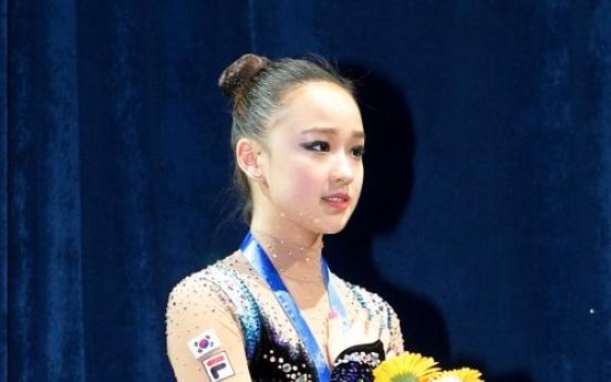 [Newsmaker] Son wins gold at Asian Gymnastics