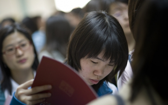 Chinese graduates in job dilemma