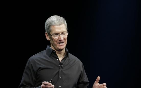 [Newsmaker] Cook strives to keep Apple innovative