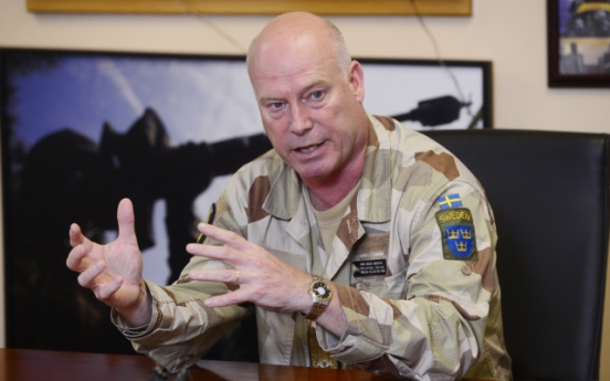 Trust crucial to peace: top Swedish neutral observer