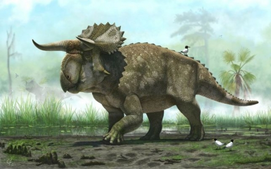 Big-nosed, horned-faced dinosaur unearthed