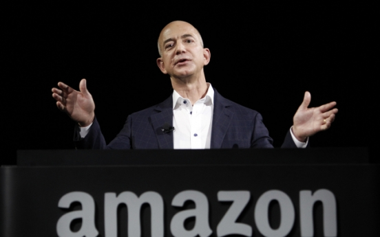 [Newsmaker] Amazon founder jumps into paper business
