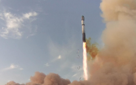 Radio communication confirms successful launch of S. Korea's new satellite