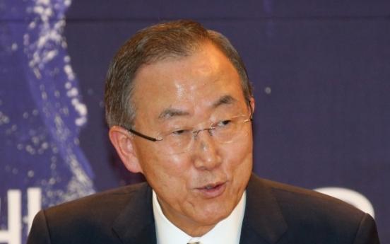 日언론들, 반기문 총장 '역사인식 발언' 비난
