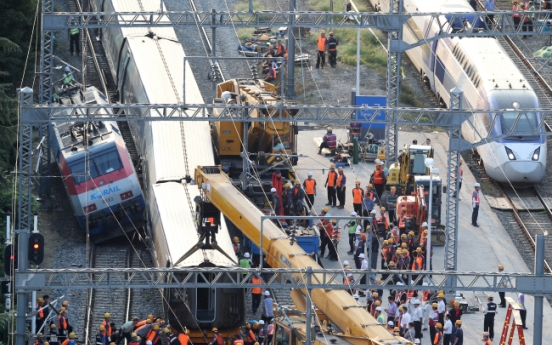 Seoul-Busan rail traffic returns to normal after train collisions