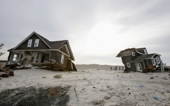 Sandy's path may be less likely in future