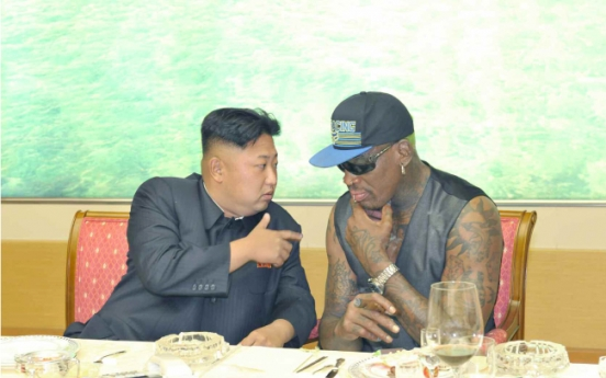 Rodman returns from Pyongyang, without detained American