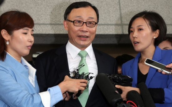Park yet to accept resignation of prosecutor general