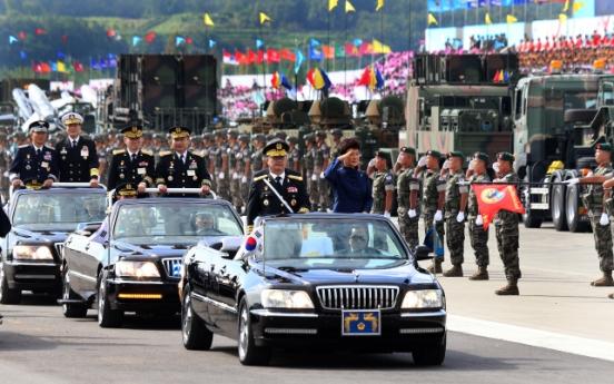 Park vows stronger N.K. deterrence