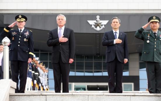 Allies' defense chiefs focus on N.K. deterrence