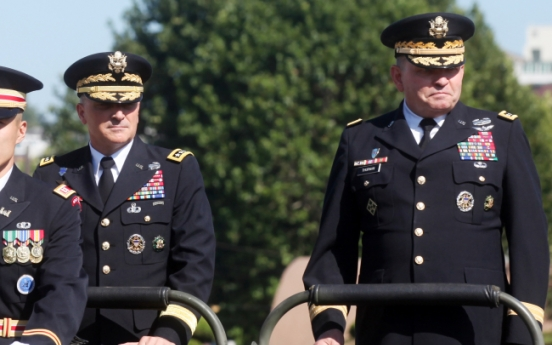 New USFK commander vows readiness against N.K.