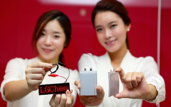 LG Chem to roll out <b>bendable</b> batteries