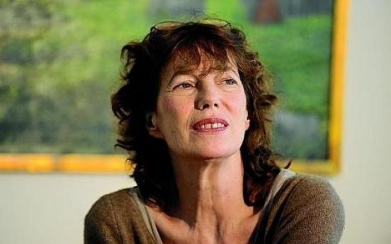 Japan honors Jane Birkin for tsunami relief effort