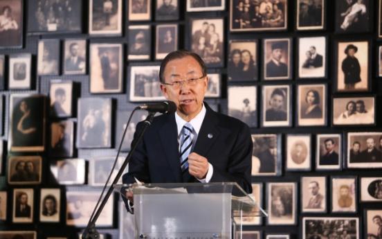 U.N. secretary-general visits Auschwitz memorial
