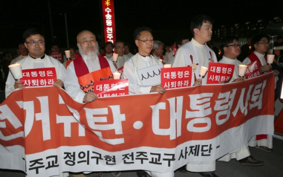 [Newsmaker] Priests stir row over Yeonpyeongdo, election