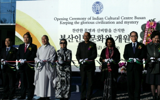 Indian Cultural Center opens in Busan