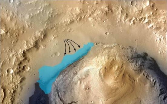 NASA: Ancient Martian lake may have supported life