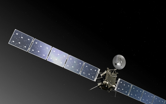 European probe on course for a landing on a comet