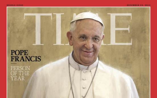 Pope: Time's Person of the Year
