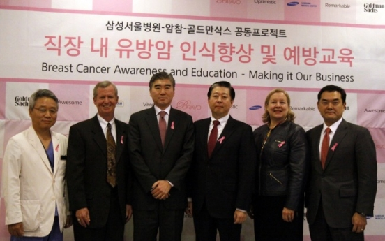 Project launched to educate workers on breast cancer