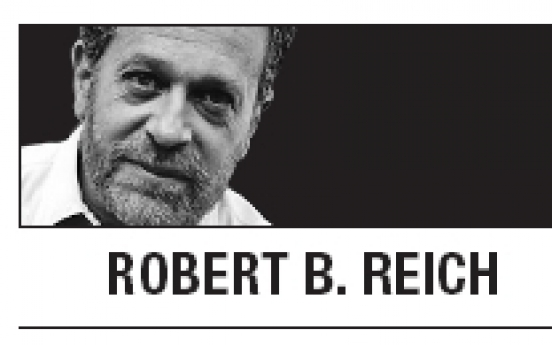 [Robert B. Reich] Inequality widening in U.S.