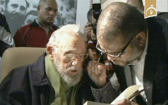 Castro makes first public appearance in 9 months