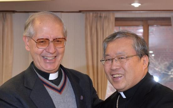 [Photo News] Jesuit leader in Seoul