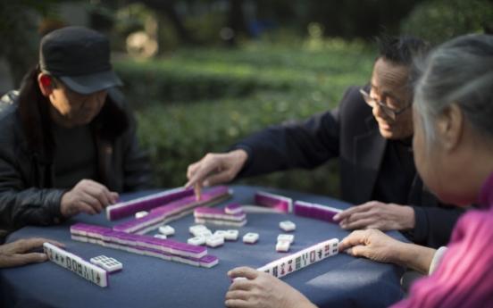 Mahjong may be H.K.'s elixir of life